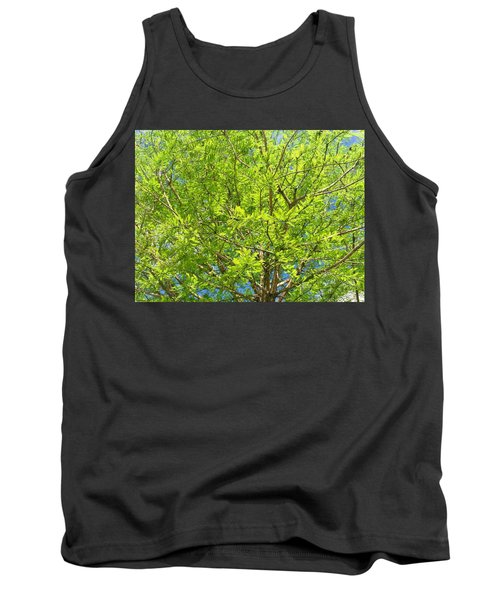 Where All The Green Things Are Tank Top