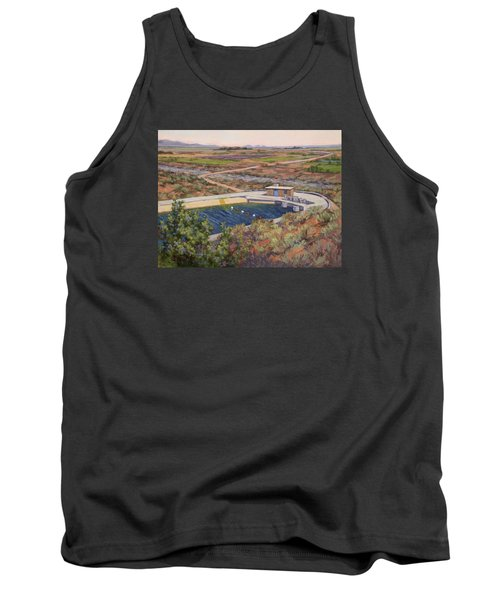 Where The Aqueduct Goes Underground Tank Top by Jane Thorpe