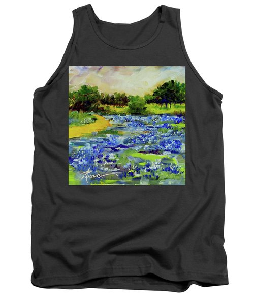 Where The Beautiful Bluebonnets Grow Tank Top