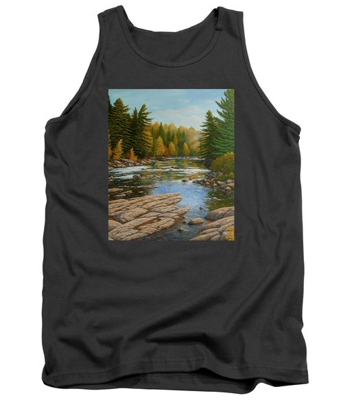 Where The River Flows Tank Top