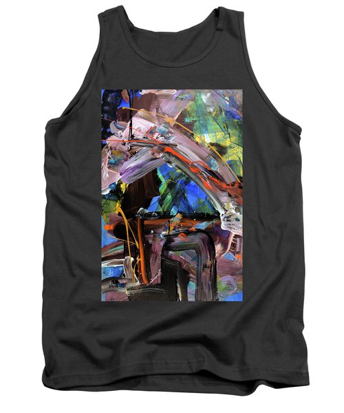Where The Smiles Roam Abstract  Tank Top