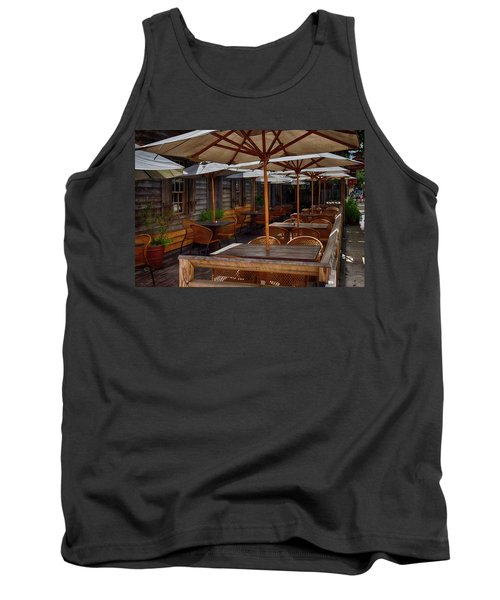 Where To Sit.... Tank Top by Tricia Marchlik
