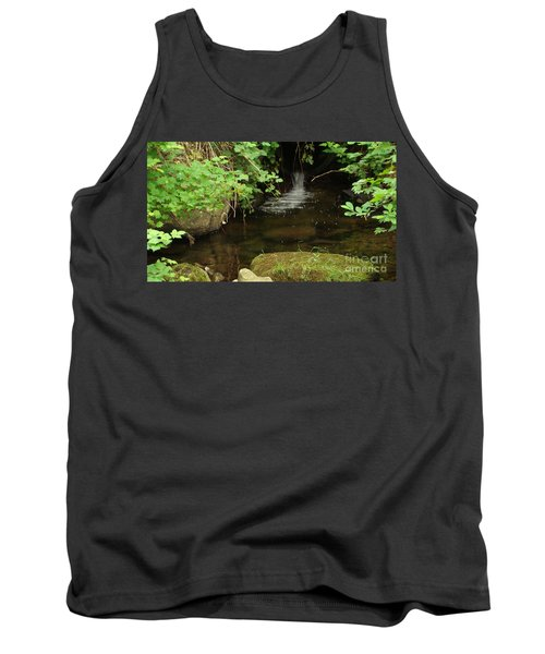 Where's The Fish? Tank Top by Rod Jellison