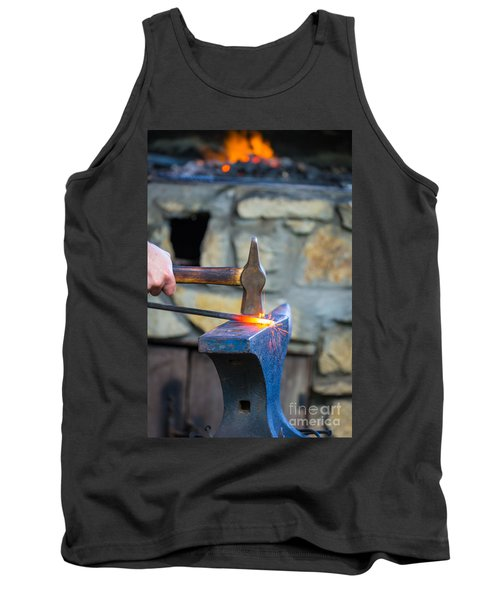 While The Iron Is Hot Tank Top