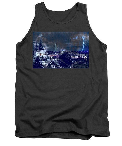 Whimsical Budapest Tank Top