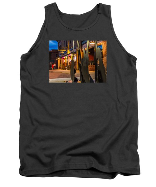 Whiskerz And Guitar Icons Tank Top