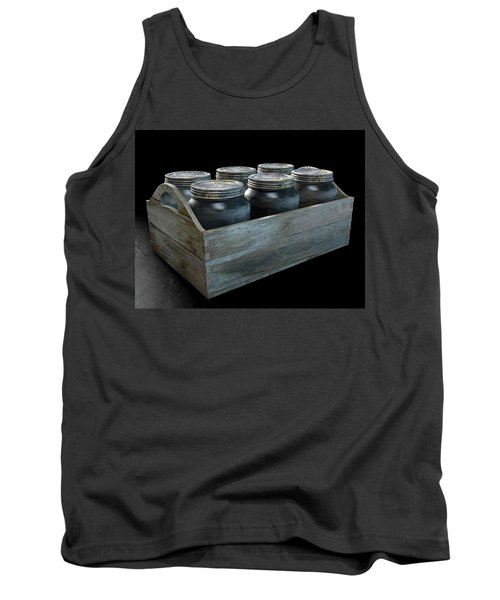 Whiskey Jars In A Crate Tank Top