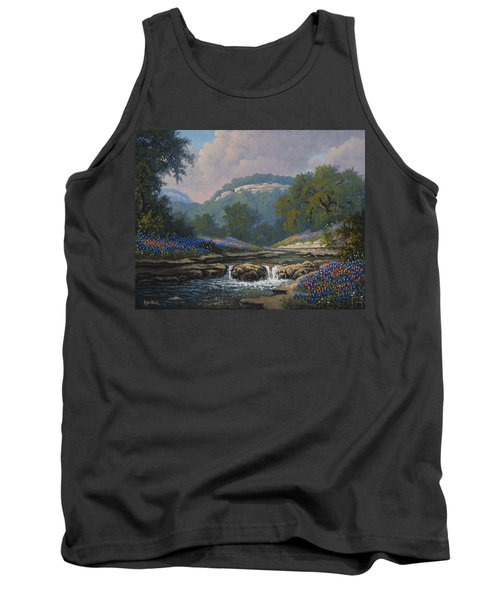 Whispering Creek Tank Top by Kyle Wood