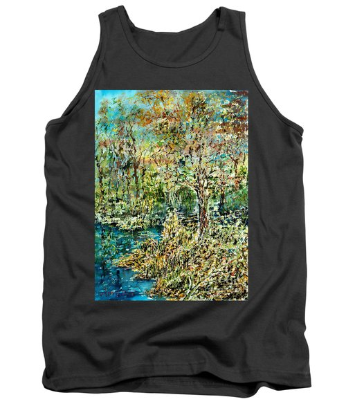 Whispering Leave Tank Top