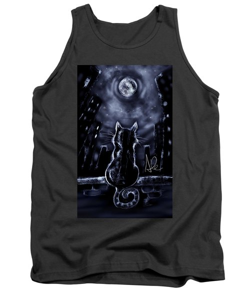 Whispering To The Moon Tank Top