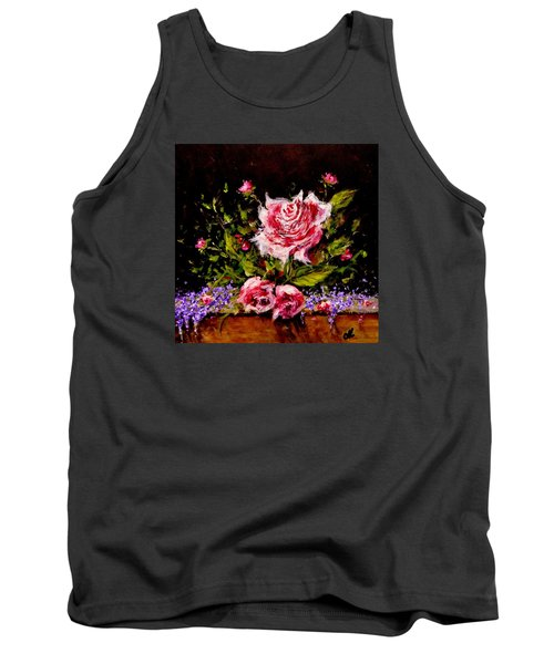 Tank Top featuring the painting Whispers Of Love.. by Cristina Mihailescu