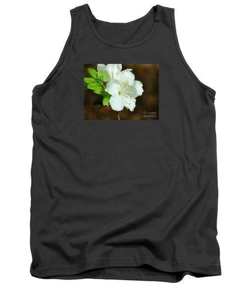 White Azalea  Tank Top