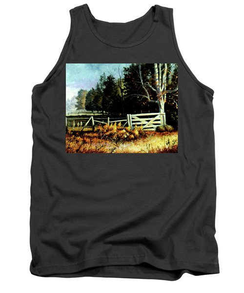 White Gate Tank Top