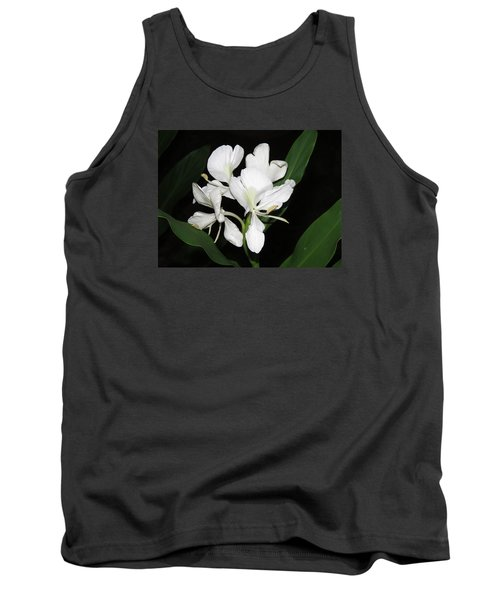 White Ginger Tank Top by Phyllis Beiser