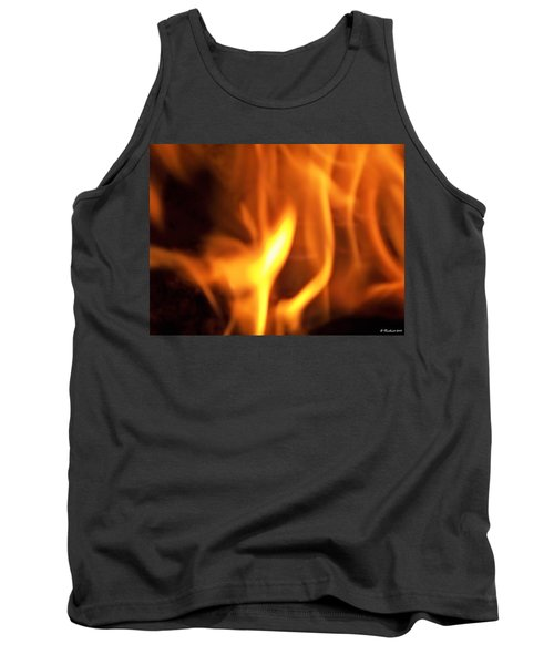Tank Top featuring the photograph White Hot by Betty Northcutt