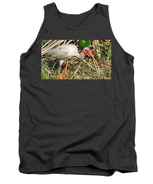 White Ibis With Crayfish Tank Top