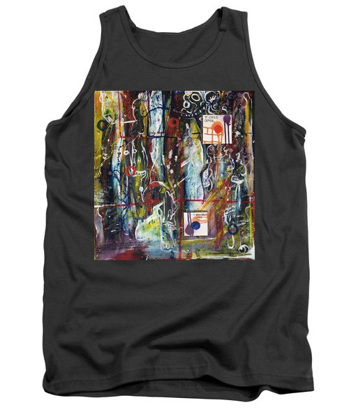 White Lies, Yellow Teeth Tank Top