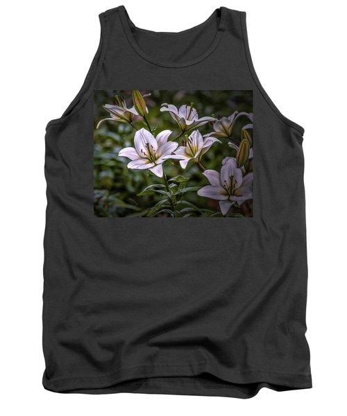White Lilies #g5 Tank Top