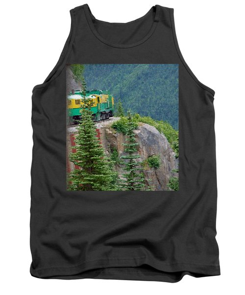 White Pass Train Alaska - Canada Tank Top