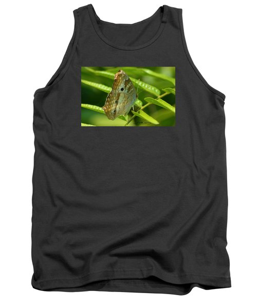 White Peacock Butterfly 2 Tank Top