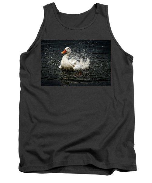 White Pekin Duck Tank Top