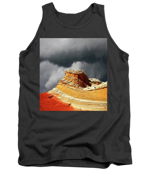 Tank Top featuring the photograph White Pocket 35 by Bob Christopher