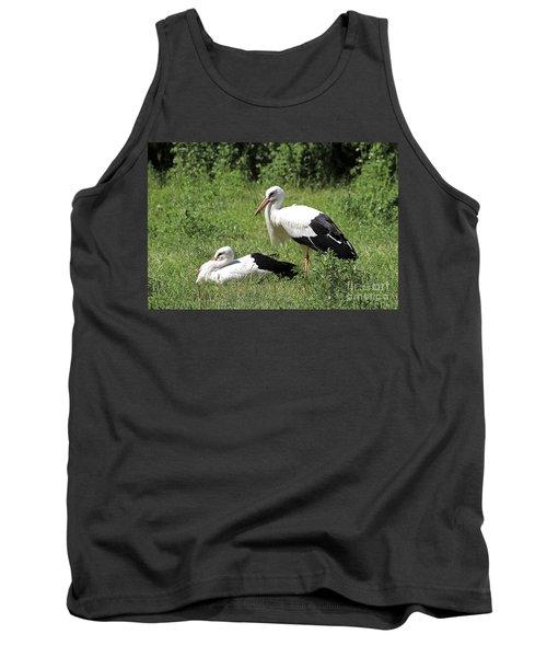 White Storks Tank Top