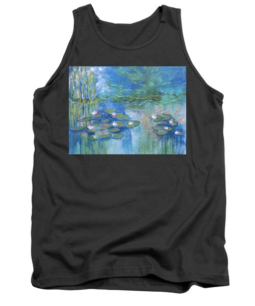 White Water Lilies Tank Top