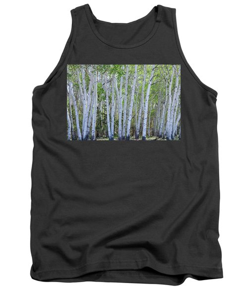 White Wilderness Tank Top by James BO Insogna
