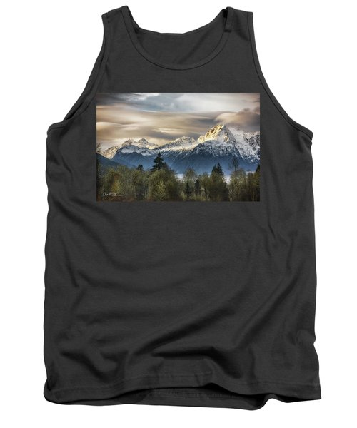 Whitehorse Sunrise, Flowing Clouds Tank Top