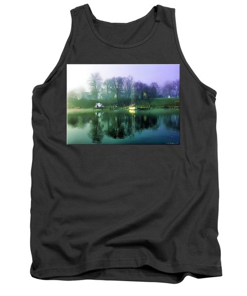 Tank Top featuring the photograph White's Cove Awakening by Brian Wallace