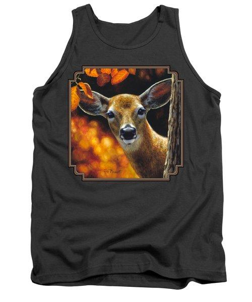 Whitetail Deer - Surprise Tank Top