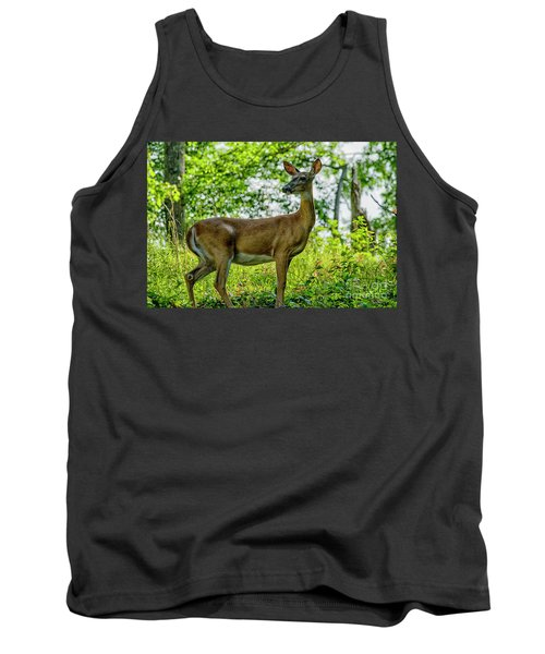 Tank Top featuring the photograph Whitetail Deer  by Thomas R Fletcher