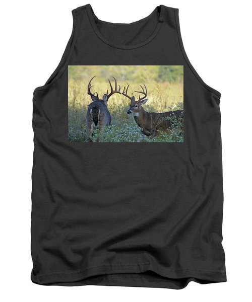 Whitetail Standoff Tank Top by TnBackroadsPhotos