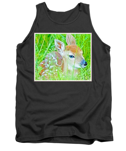 Whitetailed Deer Fawn Tank Top