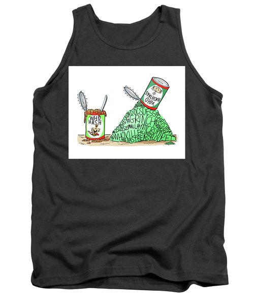 Who Hashtags Tank Top