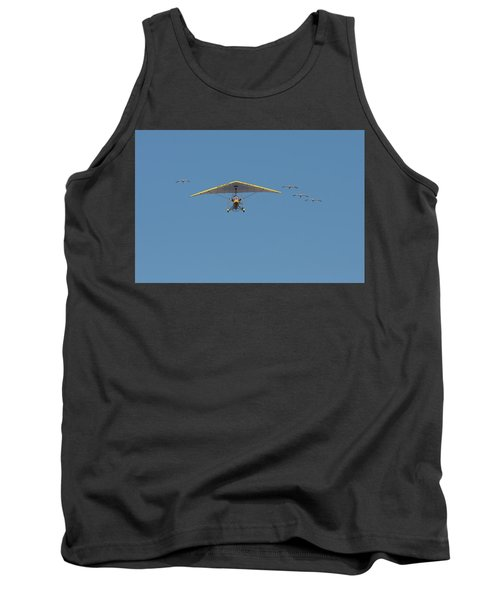 Whooping Cranes And Operation Migration Ultralight Tank Top