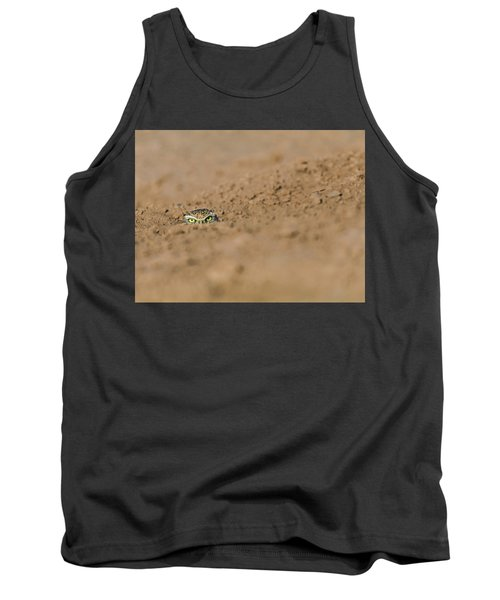Tank Top featuring the photograph Whozat by Laura Roberts