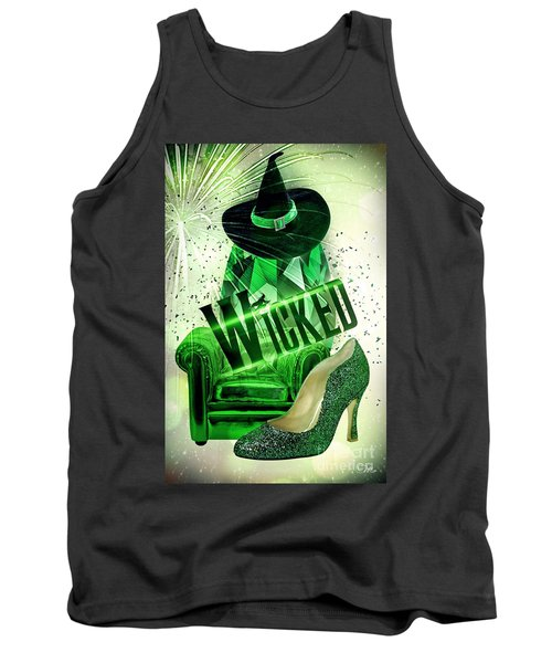 Wicked Tank Top by Mo T