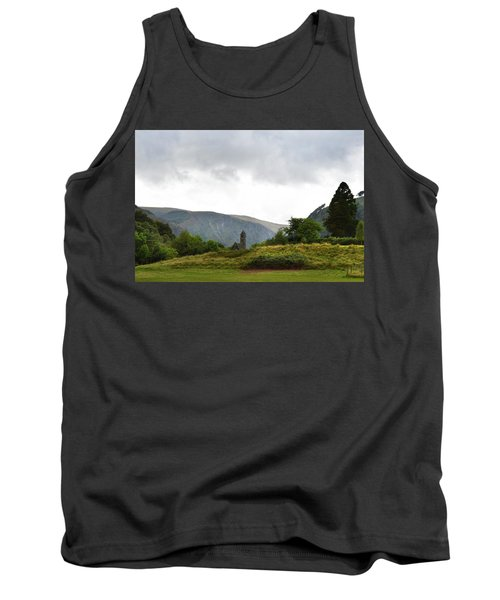 Tank Top featuring the photograph Wicklow Mountains by Terence Davis