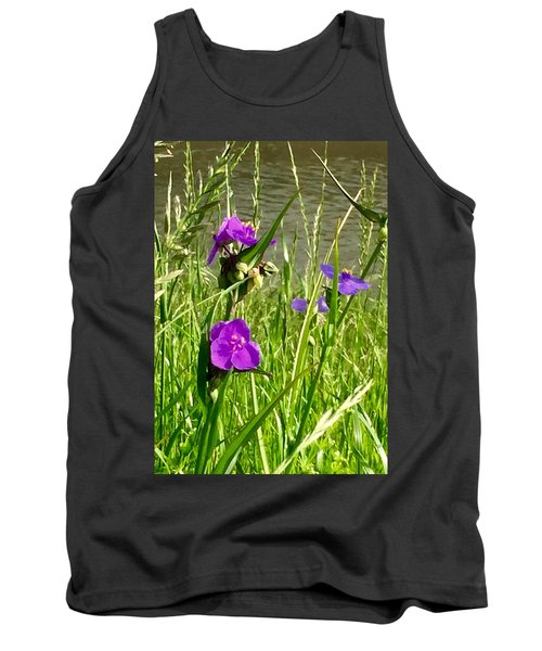 Wild About Violet Tank Top