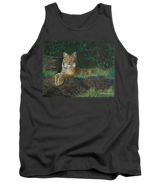 The Ever Watchful Lynx Tank Top