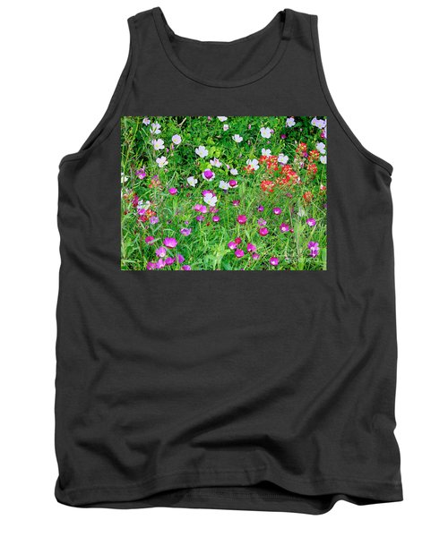 Wild Color Patch Tank Top