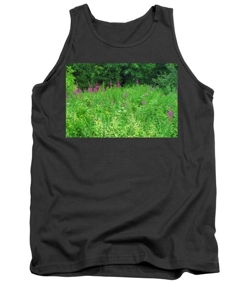 Wild Flowers And Shrubs In Vogelsberg Tank Top