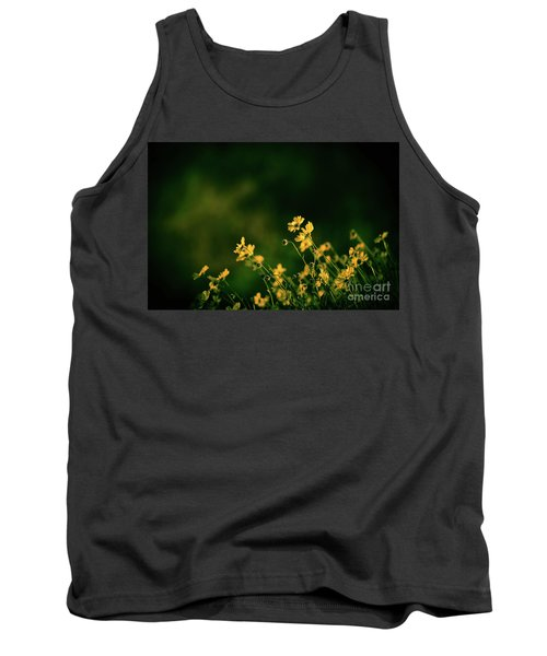 Tank Top featuring the photograph Evening Wild Flowers by Kelly Wade