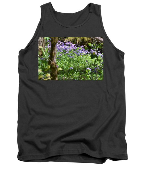 Wild Flowers On A Hike Tank Top