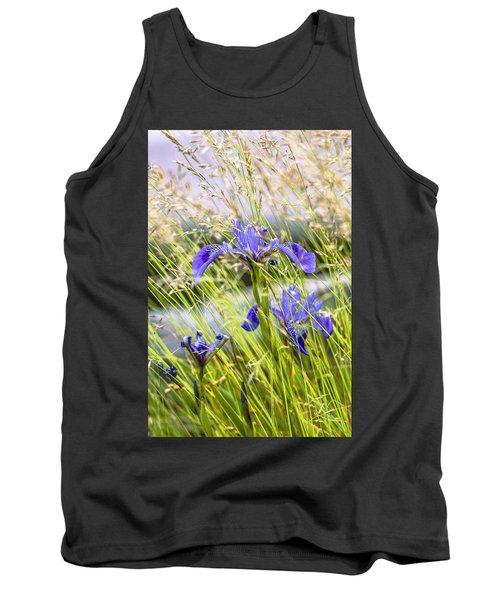 Wild Irises Tank Top