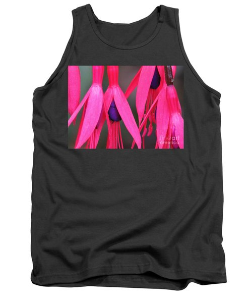 Wild Oregon Fuchsia  Tank Top by Michele Penner