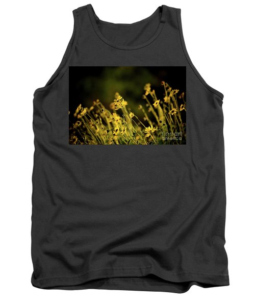Tank Top featuring the photograph Wild Spring Flowers by Kelly Wade