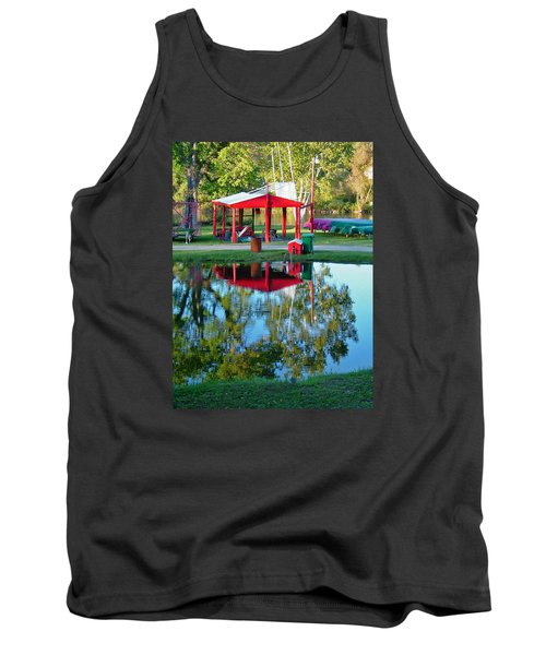 Wilderness Canoe Tank Top
